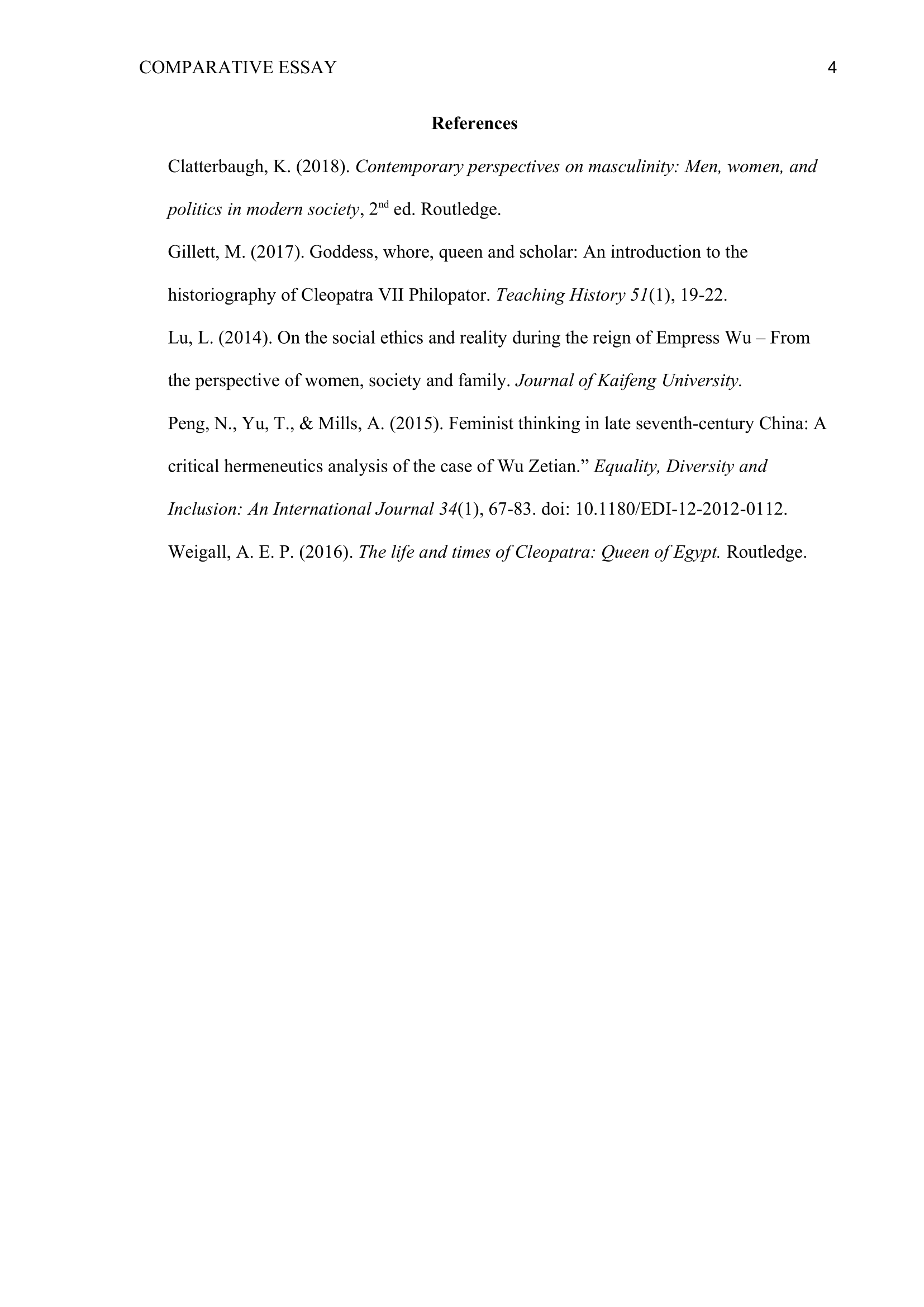 Analytical essay write