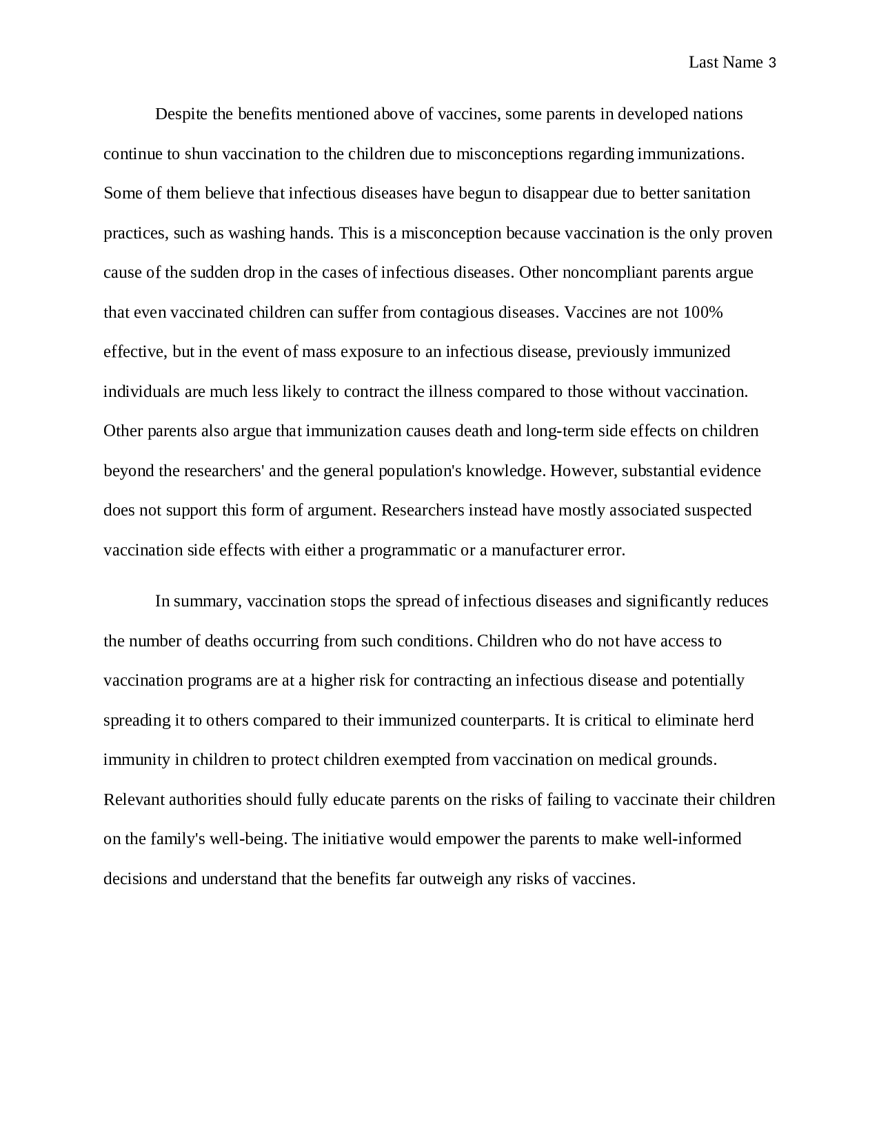 Eco friendly world essay